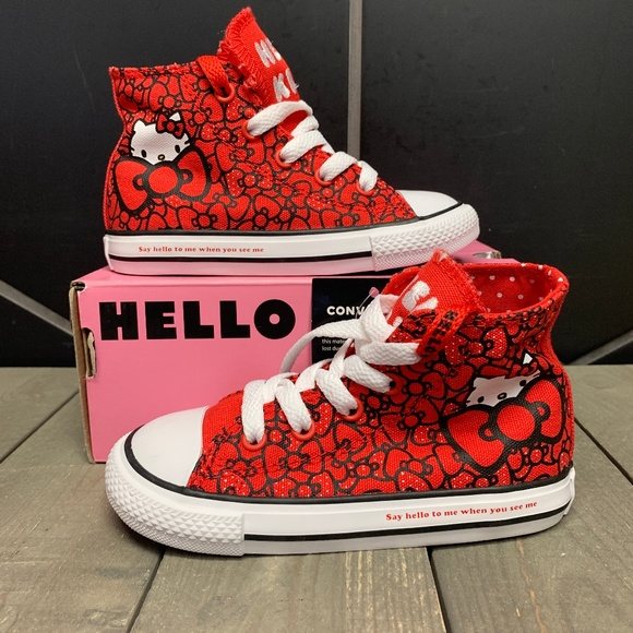 Infant Converse Chuck Taylor All Star Hello Kitty